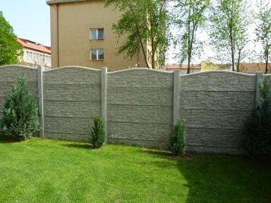 Betónové ploty v Prešove
